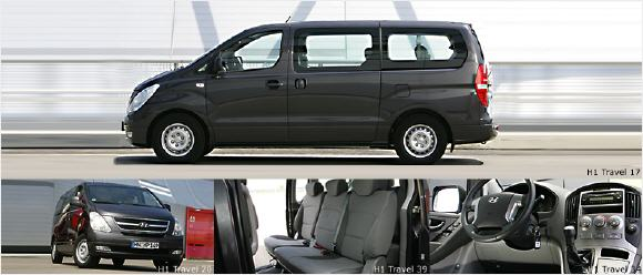 hyundai h 1 travel. Black Bedroom Furniture Sets. Home Design Ideas